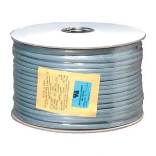 1000Ft UL 6 Conductor Silver Satin Modular Cable Reel 26AWG