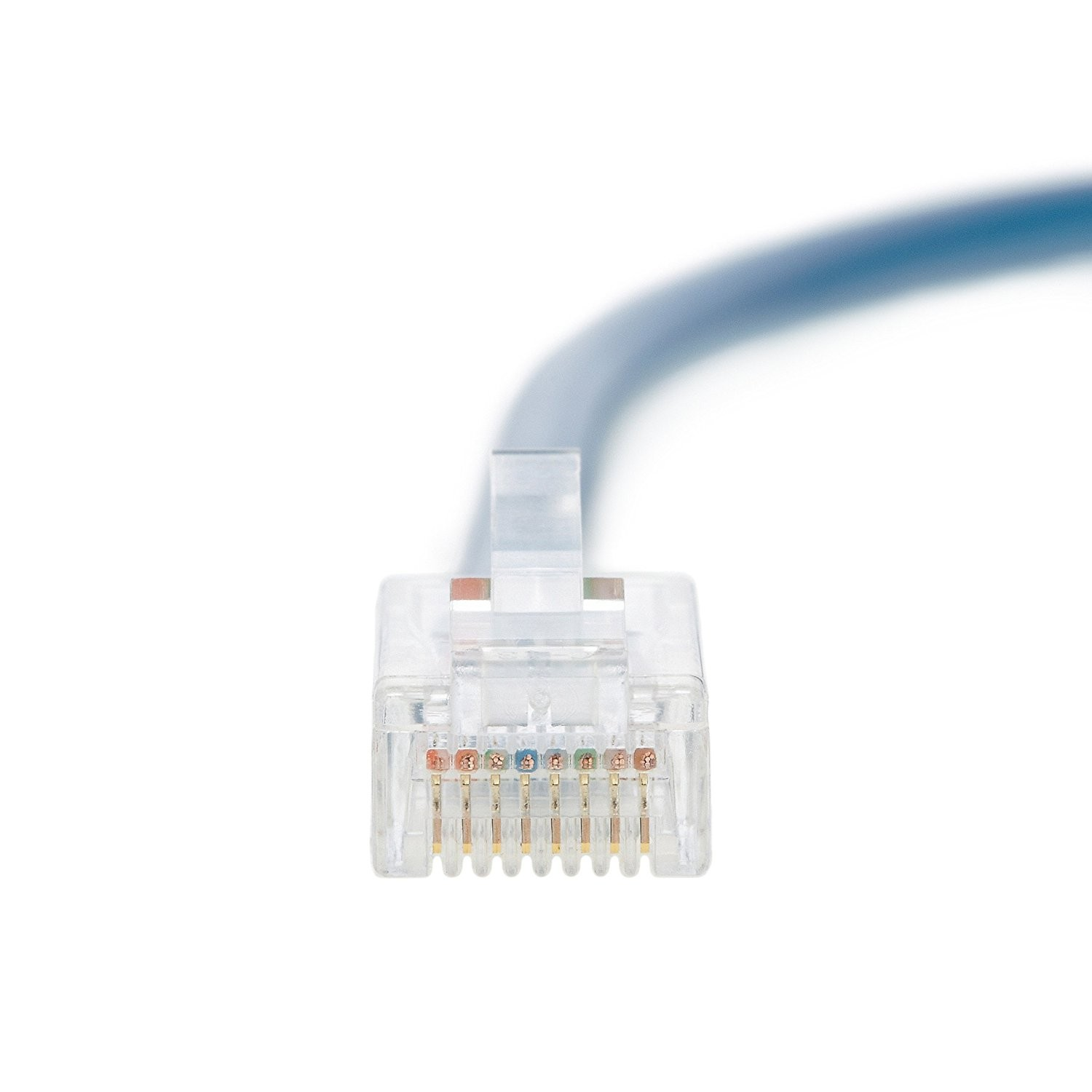 Blue 1Gigabit//Sec Network//Internet Cable InstallerParts Ethernet Cable CAT5E Cable UTP Booted 3 FT Professional Series 350MHZ