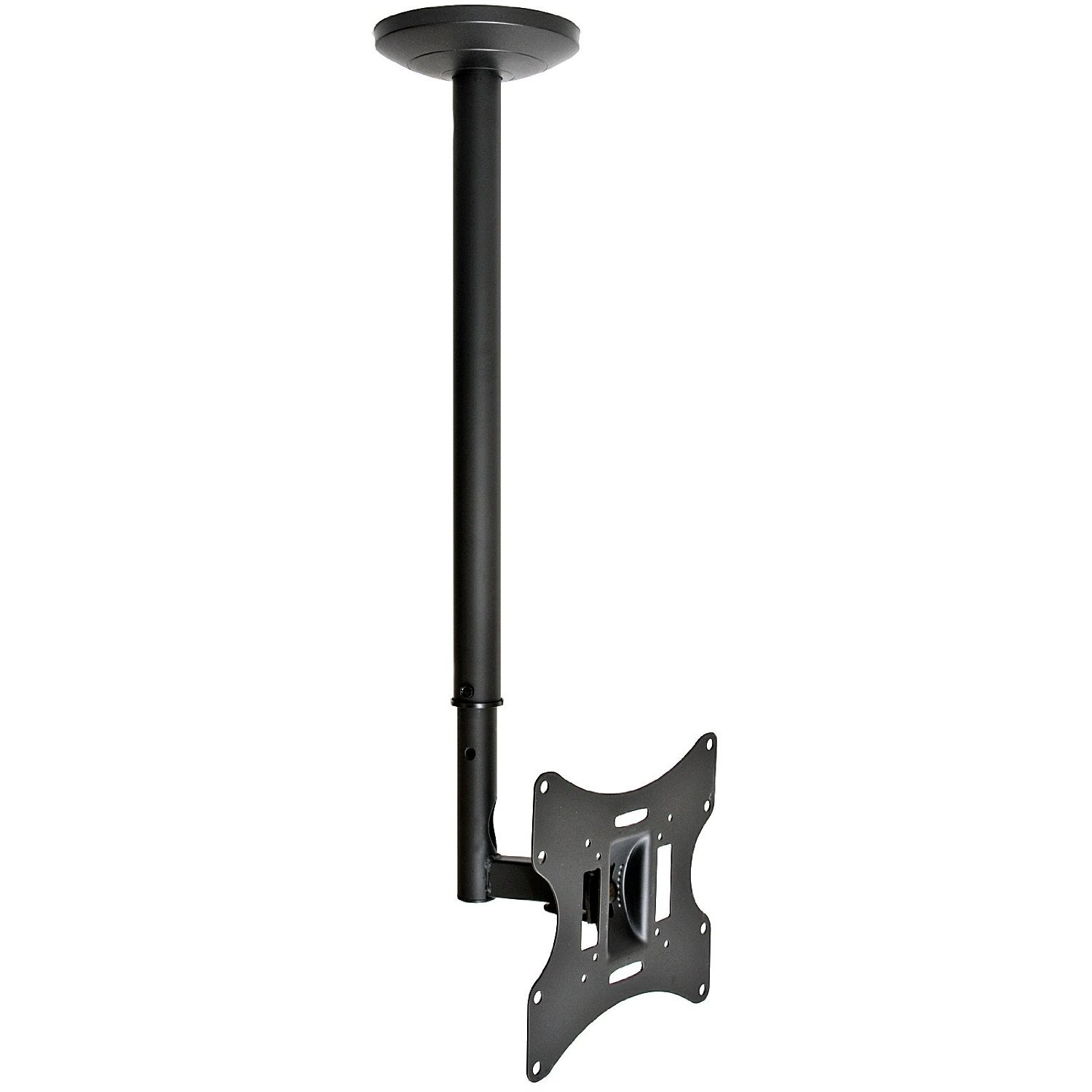 flat tv ceiling mount 17~37 tilt/swivel, lcd-504a black