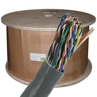 1000Ft Cat.5E 25 Pair UTP Cable 24AWG CMR