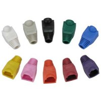 Color Boots for RJ45 Plug Red 100pk