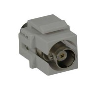 Snap-in BNC F/F Keystone Module White