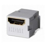 HDMI Keystone Coupler White