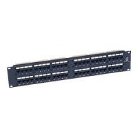 Cat.5E 110 Type Patch Panel 48Port Rackmount