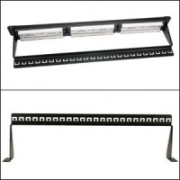 19 inch 1U Support Bar Black