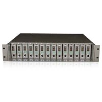 14-Slot Rackmount Chassis for Media Converters, MC1400