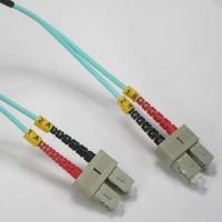 1m SC-SC 10Gb 50/125 LOMMF  M/M Duplex Fiber Cable