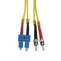 3m ST-SC Duplex Singlemode 9/125 Fiber Optic Cable