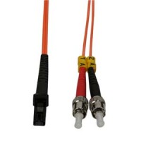 2m MTRJ-ST Duplex Multimode 62.5/125 Fiber Optic Cable