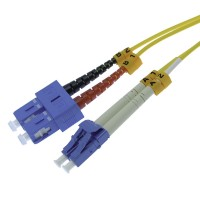 InstallerParts 8m LC-SC Duplex Singlemode 9/125 Fiber Optic Cable