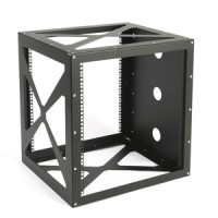 12U Side Mount Wall Rack