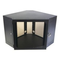 12U Corner Wallmount Cabinet