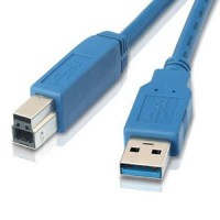 6Ft USB3.0 A-Male to B-Male