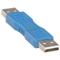 USB A M/M Gender Changer