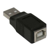 USB A-M/B-F Gender Changer