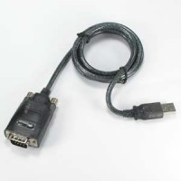 USB1.1 to Serial Adapter DB9-Male w/Thumbscrew