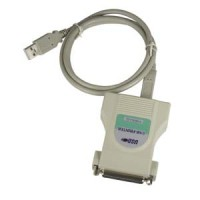 3Ft USB Parallel Printer Adapter (DB25-F)