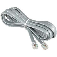 7Ft RJ12 Modular Cable Straight
