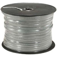 1000Ft UL 8 Conductor Silver Satin Modular Cable Reel 26AWG