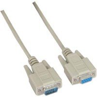 10Ft DB9-M/F Null Modem Cable