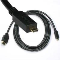 10Ft HDMI Male to Micro(D-Type) Male Cable High Speed with Ethernet