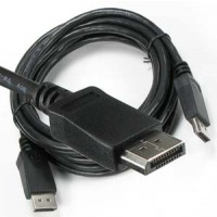 3Ft Display Port Male/Male Cable