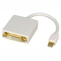 Mini Display Port Male to DVI Female Adapter