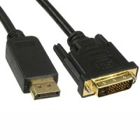 6Ft Display Port Male to DVI Male Cable