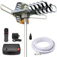 Outdoor HDTV Yagi Antenna with Motor Rotor, WA2608