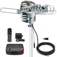 Outdoor HDTV Yagi Antenna Snap On Style with Motor Rotor, WA2608B