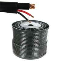 500Ft RG59 w/2x18AWG Power Black CMR