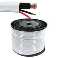 500Ft RG59 w/2x18AWG Power White CMR
