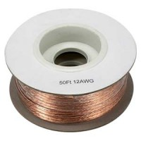 50Ft 12AWG Bulk Polarized Speaker Wire Spool