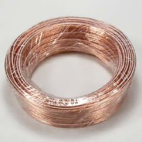50Ft 22AWG Bulk Polarized Speaker Wire Coil