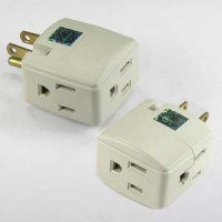 3 Outlet Cube Adapter