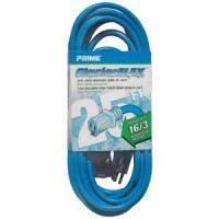 25Ft 16/3 Cold Weather Extension Cord W/ Primelight Indicator Light
