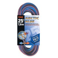 25Ft 14/3 Extreme Temperature Extension Cord, LT530725
