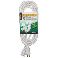 12Ft 16/3 Patio & Deck Extension Cord