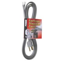 6Ft 16/3 Garbage Disposal Extension Cord
