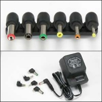 500mA Universal AC/DC adapter w/6 Plugs