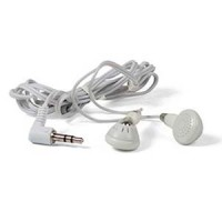 Earphone White 3.5mm Plug