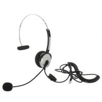 Otimo Corded Office Headset/Microphone, RJ22(Handset) Plug, HSM-1001RJ