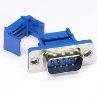 DB9 Male IDC Metal Shell Connector