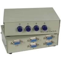 DB9 4Way Manual Switch