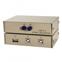 USB 2Way Manual Switch Box Ax1/Bx2