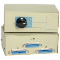 DB25 2Way  Manual Switch Box