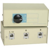 RJ11/12 2Way Manual Switch Box