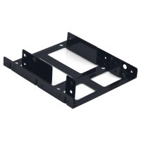 """2.5"""" to 3.5"""" HDD/SSD Internal Adapter Mounting Kit w/ 1 SATA Power & 2 SATA III Cables"""