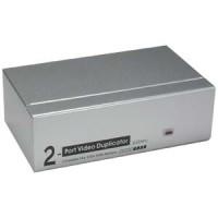 2Way VGA Splitter 450MHz Max 2048x1536 Resolution