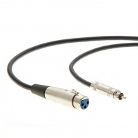 6Ft XLR 3P Female to RCA Male Cable